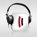 Icon Podcast Nürnberg und so mit Kopfhörern